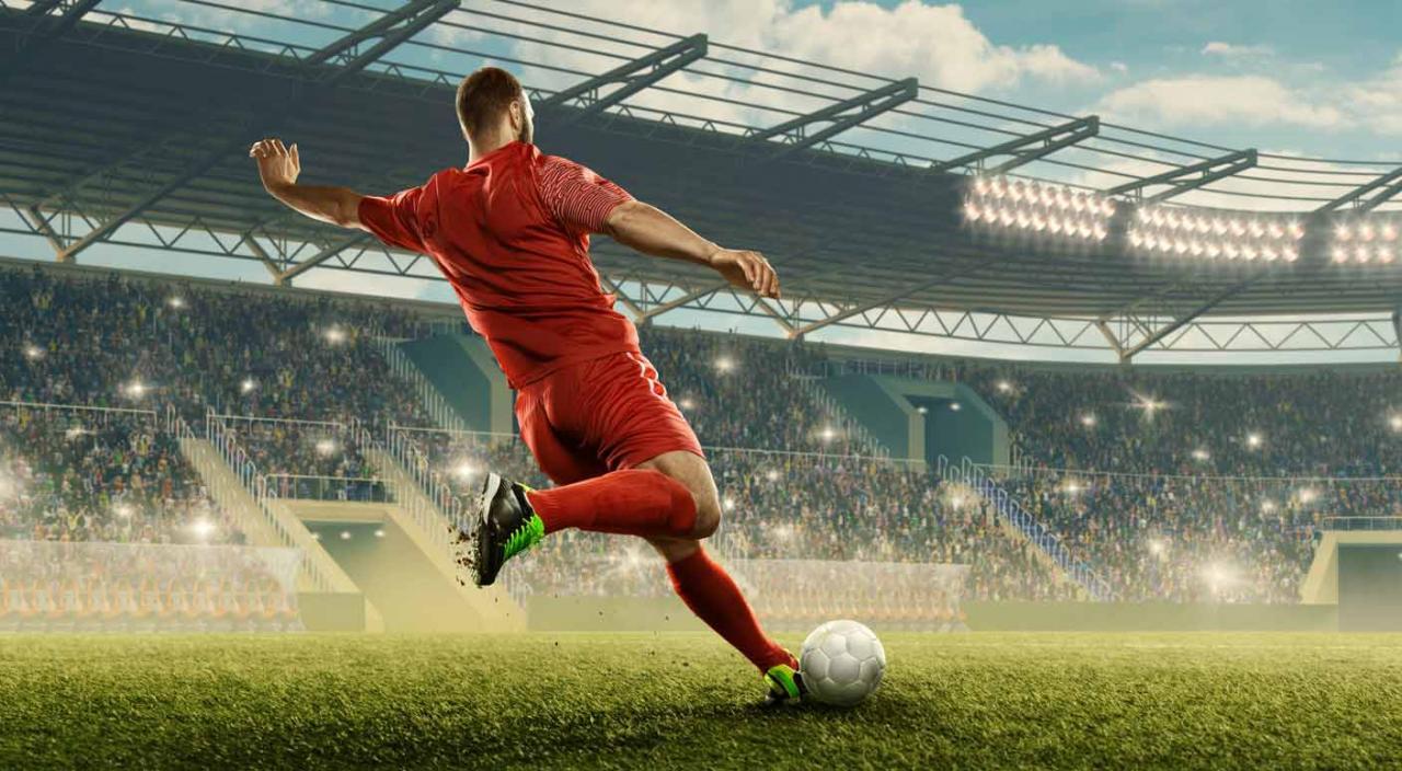 Tributación deportista por cesión de derechos de imagen. Futbolista en acción