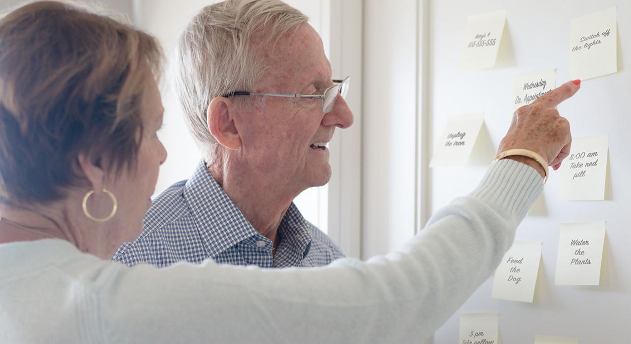 Unión de hecho, ISD, consentimiento, alzheimer, Galicia. Imagen de dos personas mayores